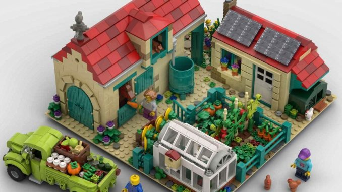 LEGO Ideas Nice Day At The Farm (1)