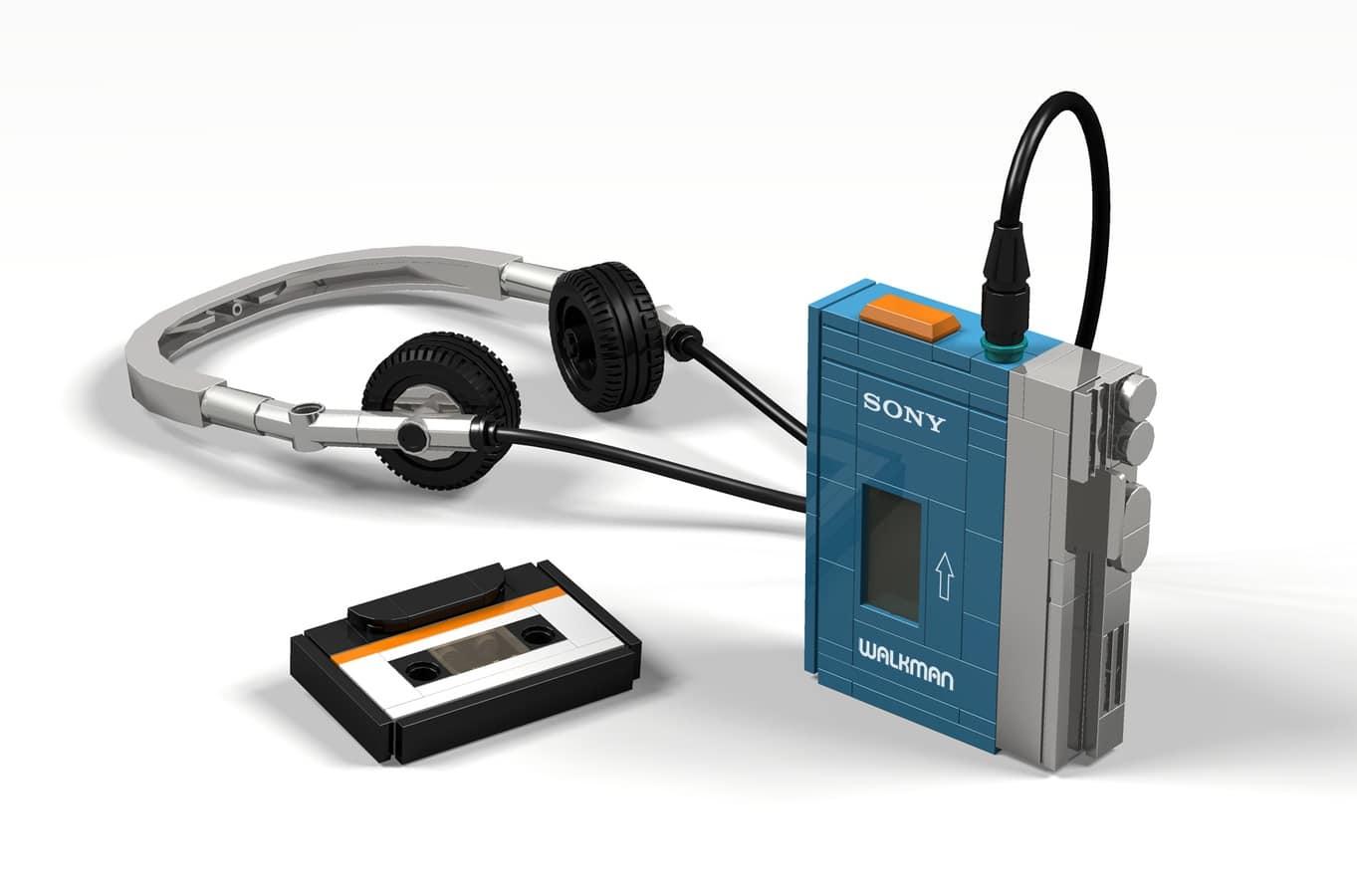 LEGO Ideas Sony Walkman