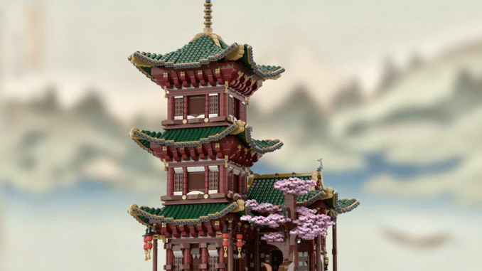 LEGO Ideas Temple Of Hermit (1)