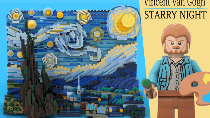 LEGO Ideas Van Gogh Starry Night (1)