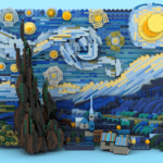 LEGO Ideas Van Gogh Starry Night (2)