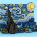 LEGO Ideas Van Gogh Starry Night (3)