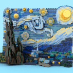 LEGO Ideas Van Gogh Starry Night (4)
