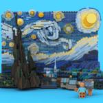 LEGO Ideas Van Gogh Starry Night (6)