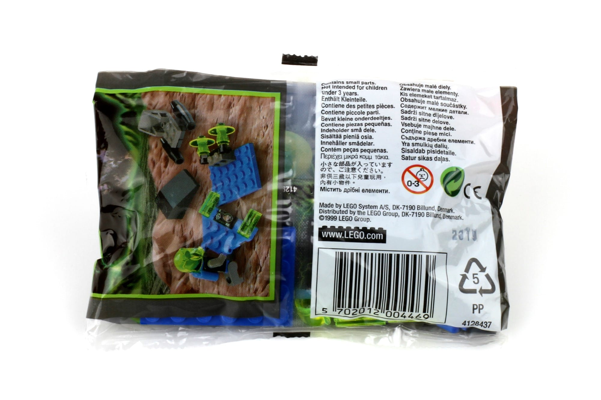 LEGO Insectoids Kabaya 3073 Booster Polybag Rückseite