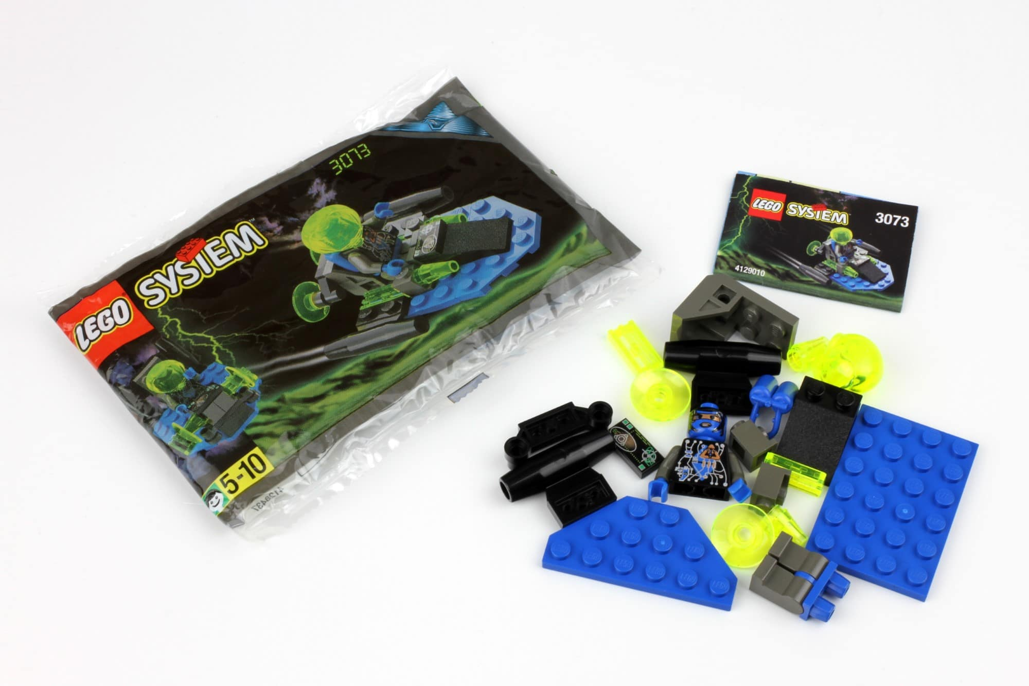 LEGO Insectoids Kabaya 3073 Booster Unboxing 2