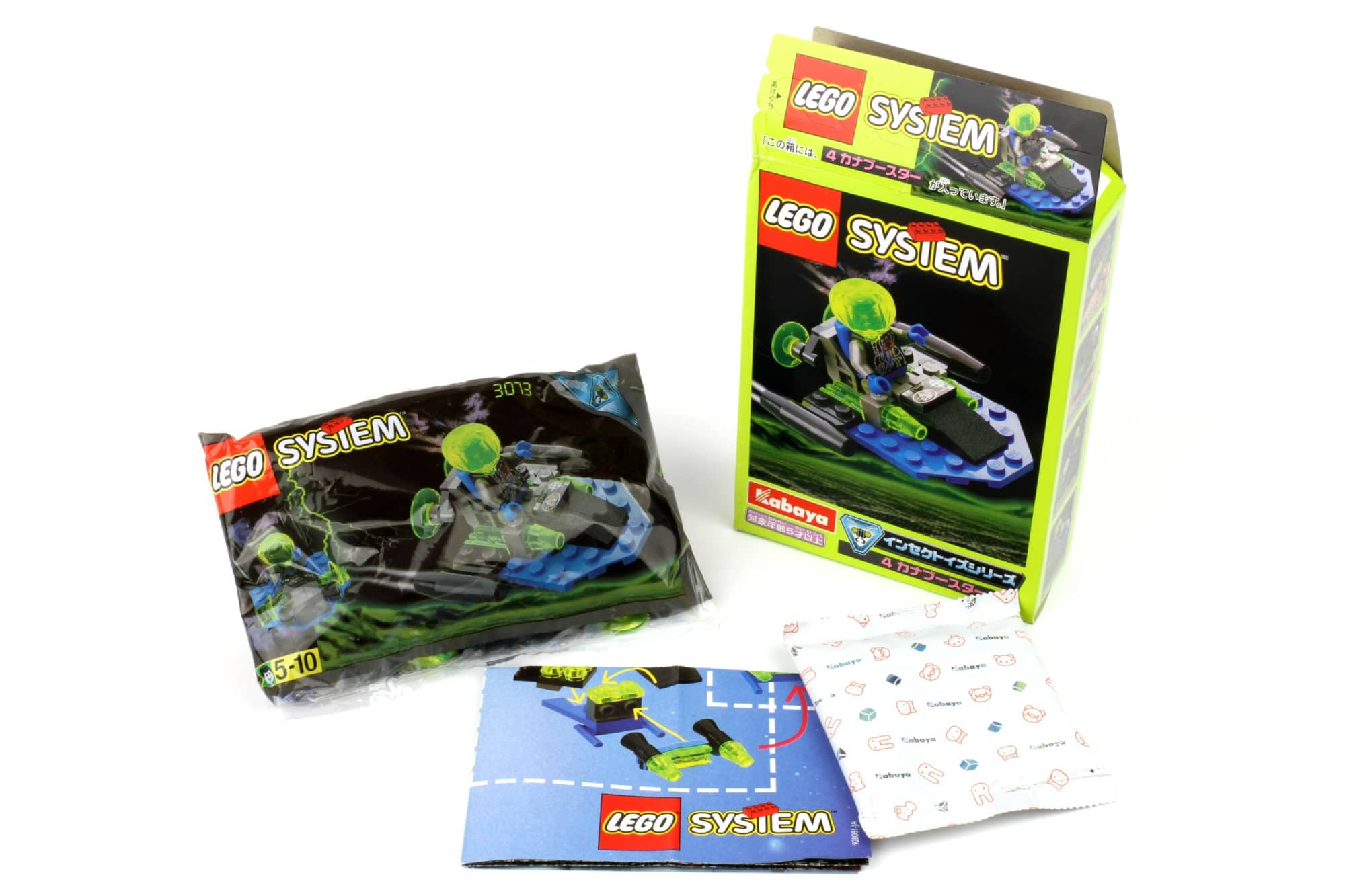 LEGO Insectoids Kabaya 3073 Booster Unboxing