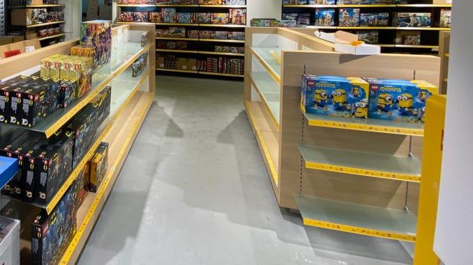 LEGO Lieferungen Händler Verzögerung
