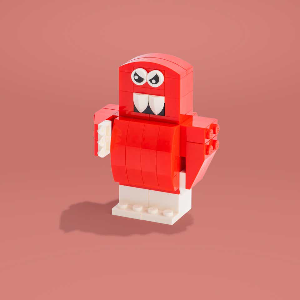 LEGO Meanie