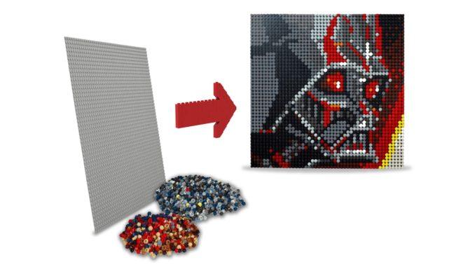 LEGO Art: Lohnt sich ein Rebrick der Mosaike?