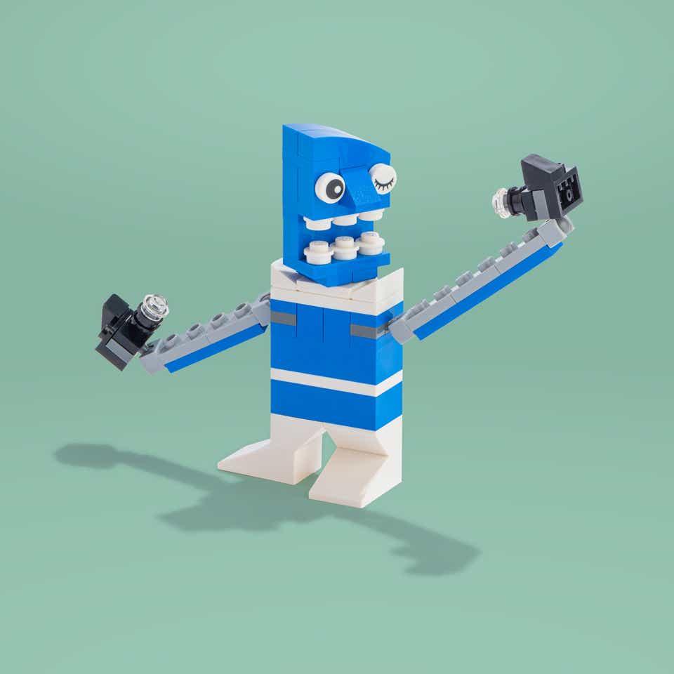 LEGO Oversharer