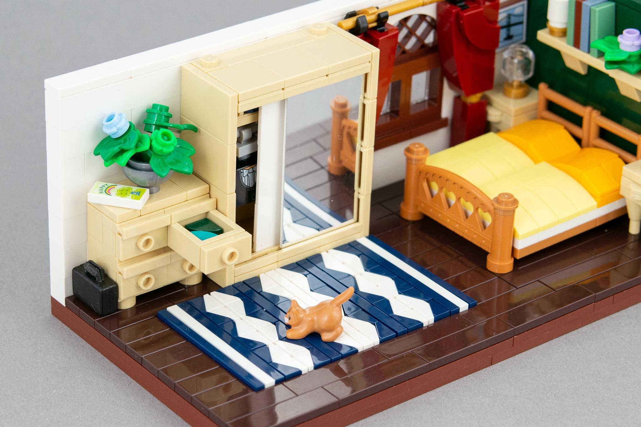 LEGO Schlafzimmer Moc (6)