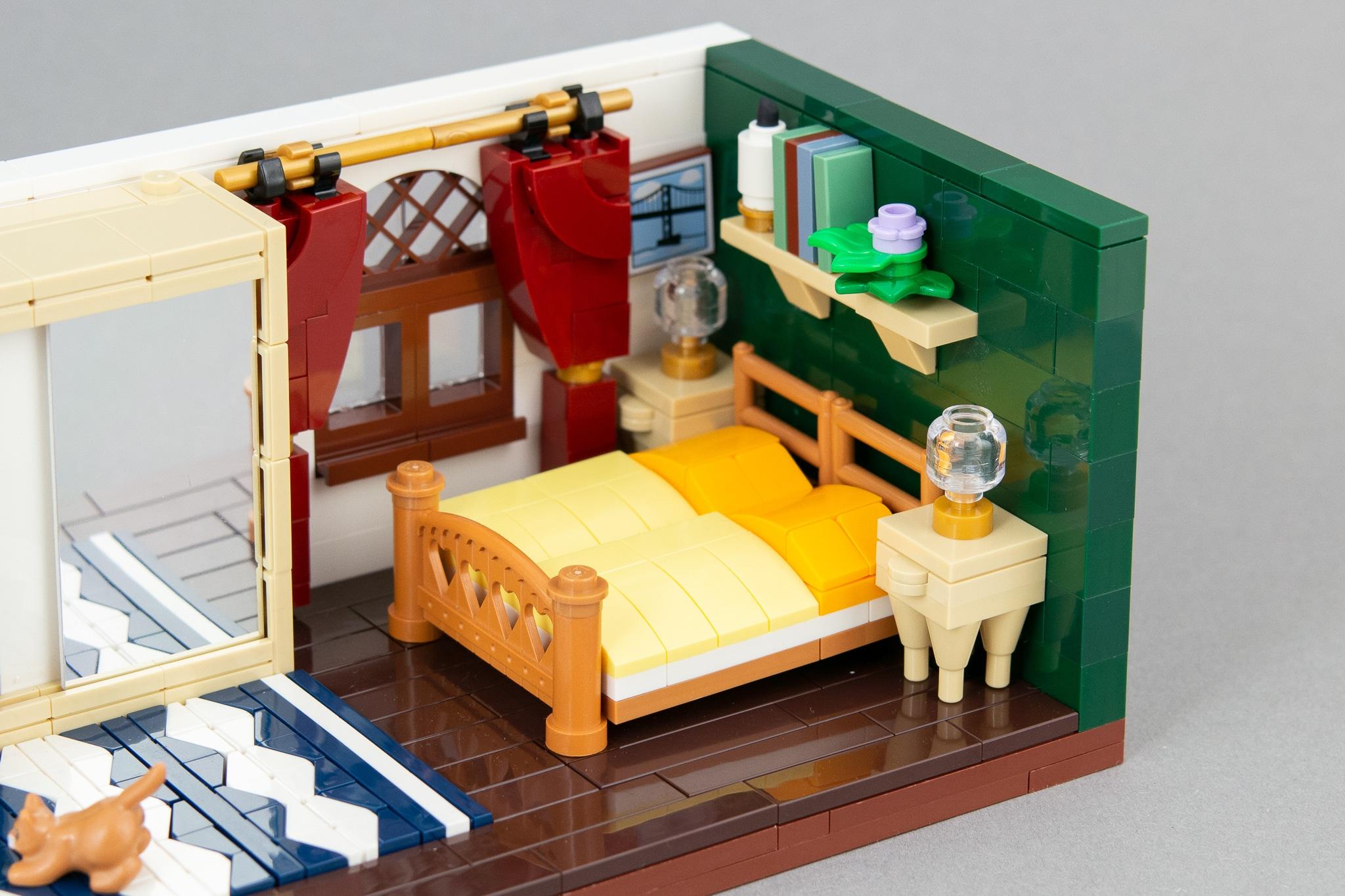 LEGO Schlafzimmer Moc (7)