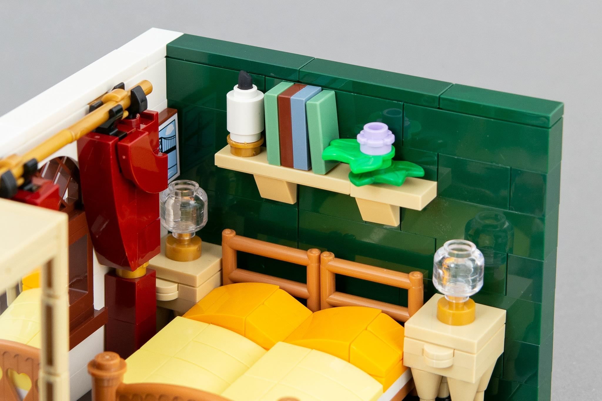 LEGO Schlafzimmer Moc (8)