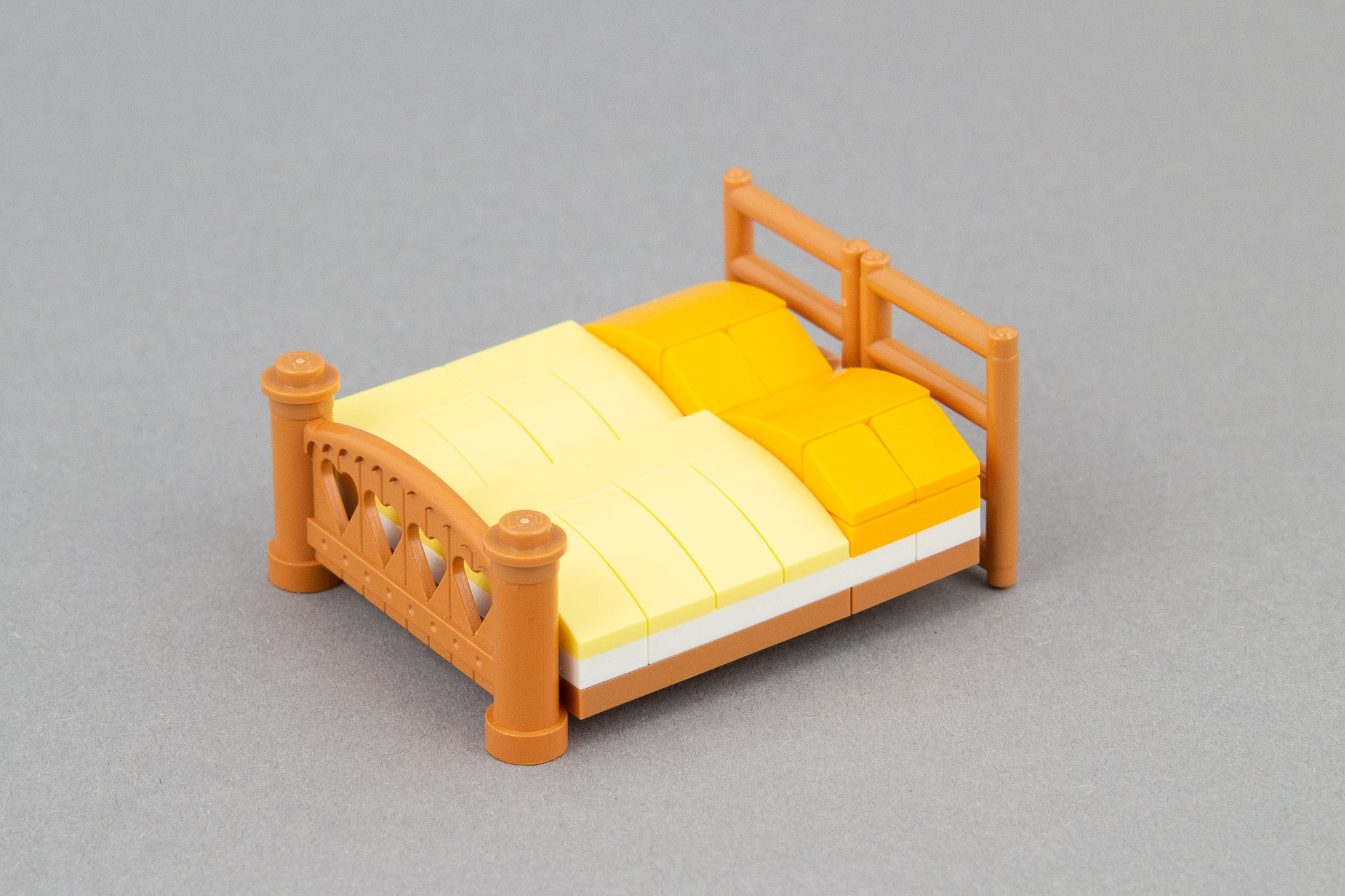 LEGO Schlafzimmer Moc Bett (2)