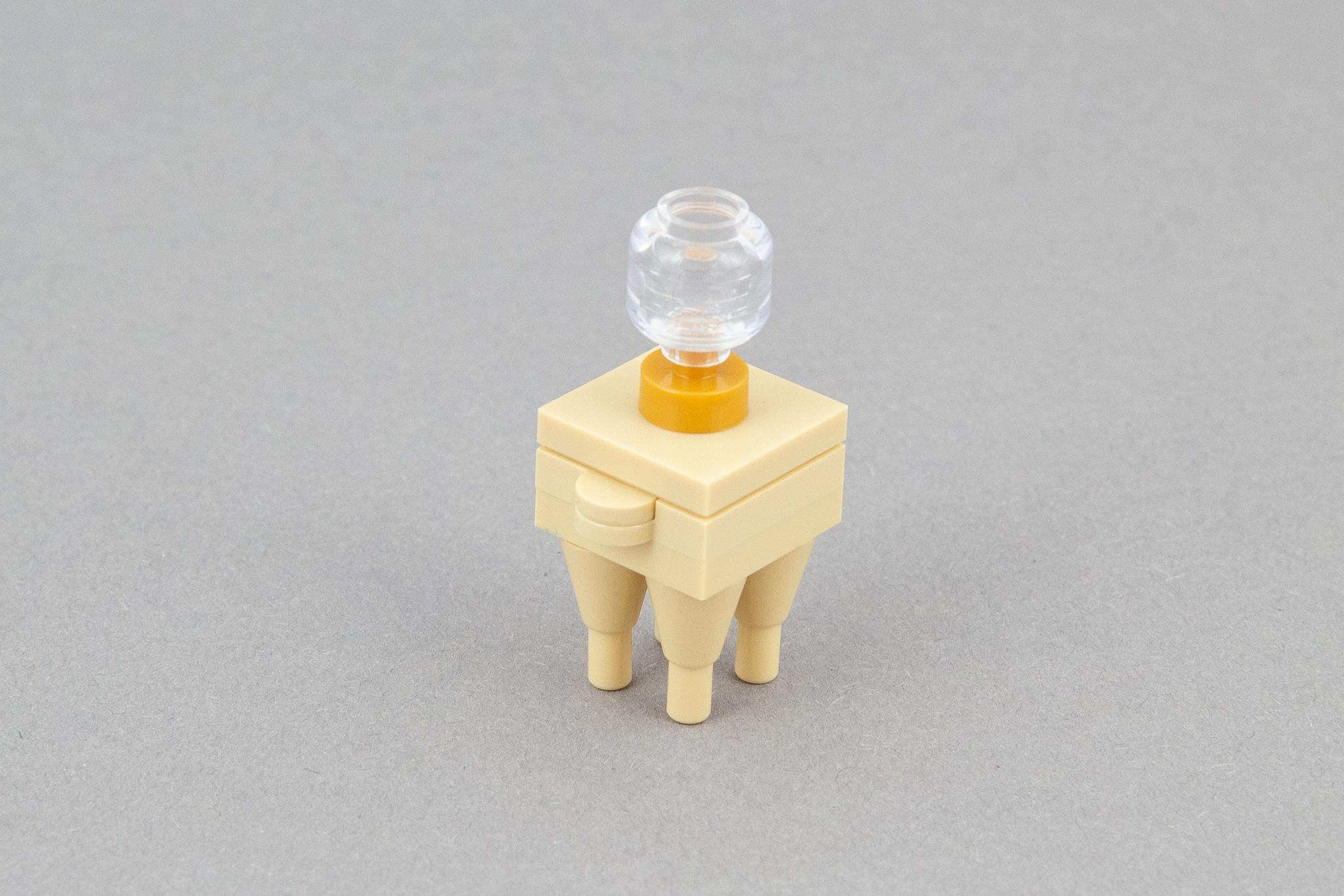 LEGO Schlafzimmer Moc Nachttisch (1)