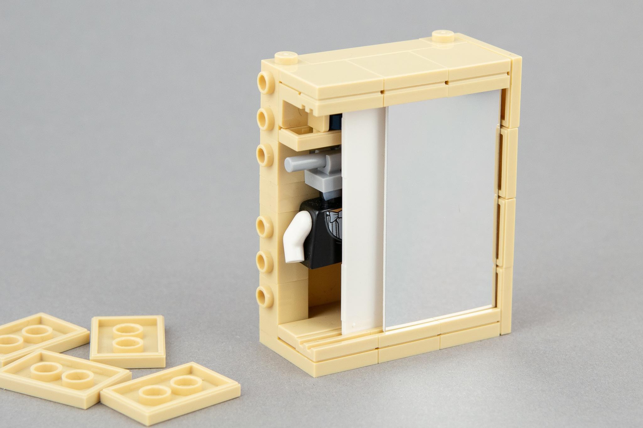 LEGO Schlafzimmer Moc Schrank (5)
