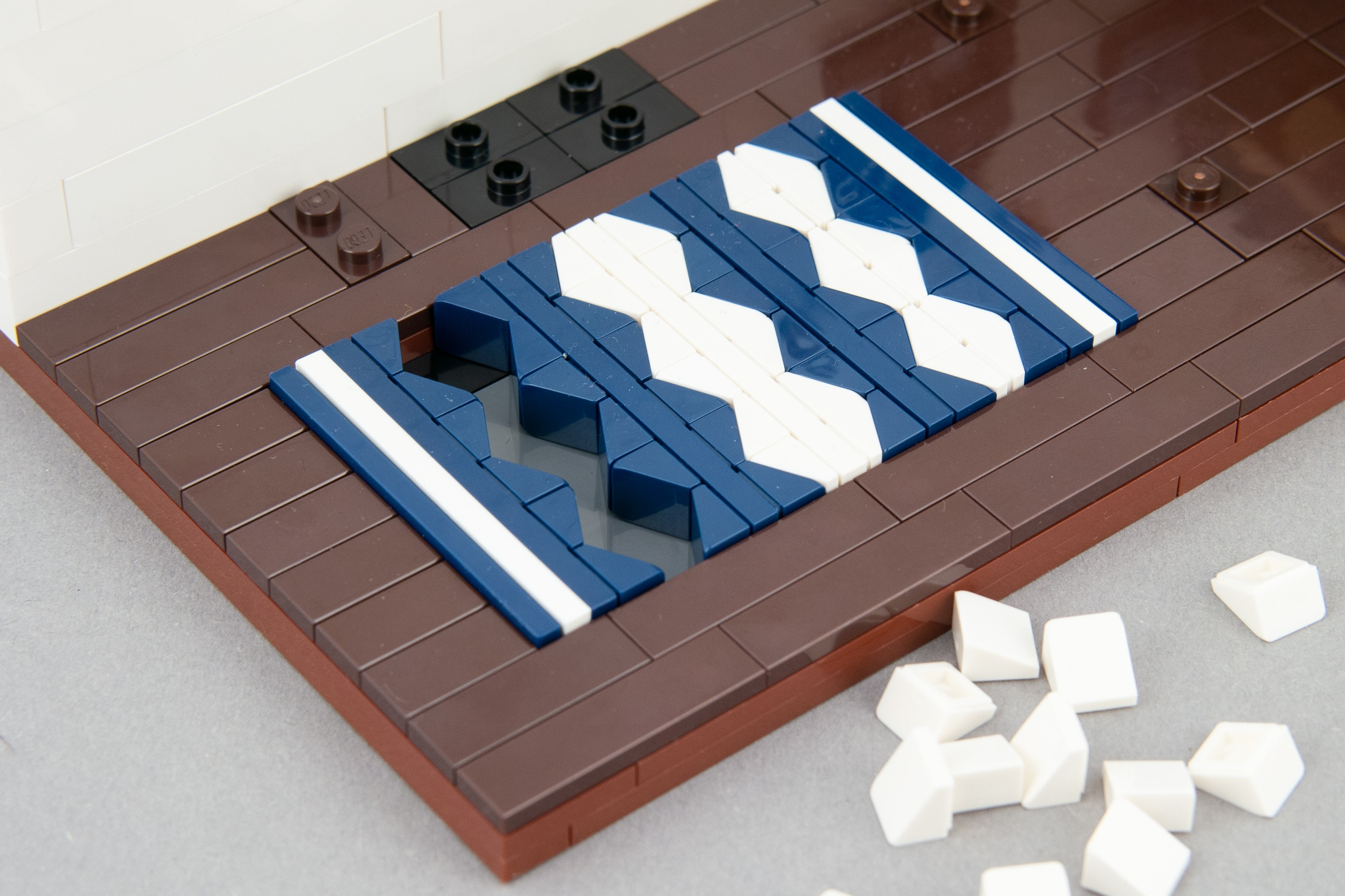 LEGO Schlafzimmer Moc Teppich (4)
