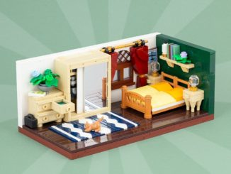 LEGO Schlafzimmer Moc Titelbild