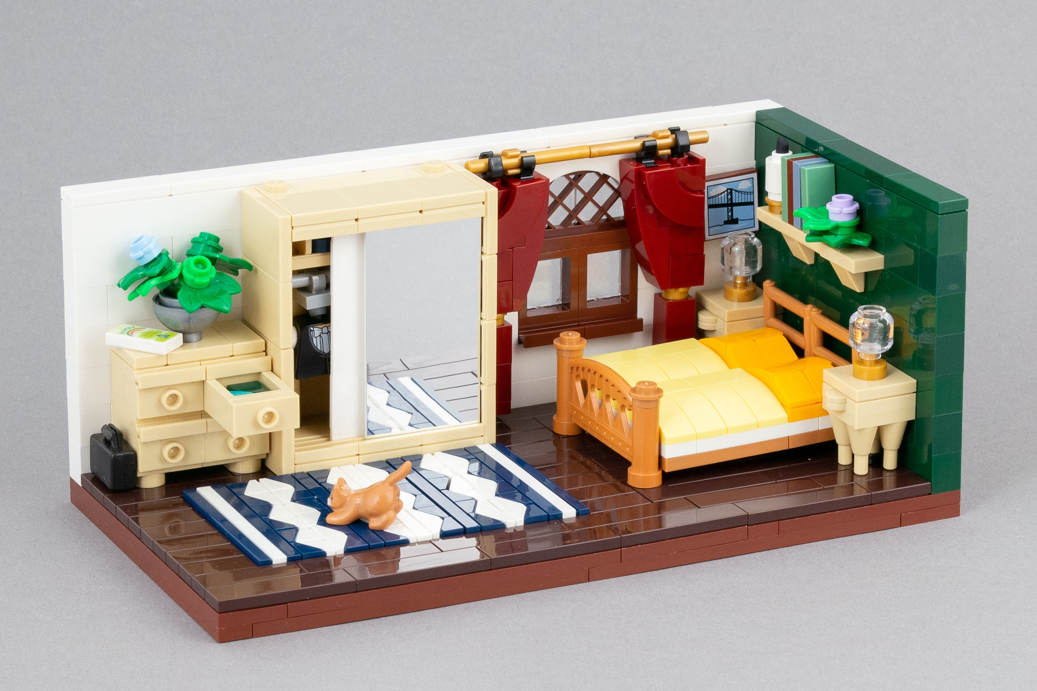 LEGO Schlafzimmer Moc