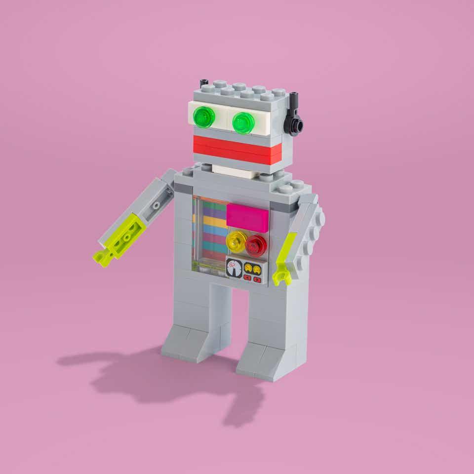 LEGO Spambot