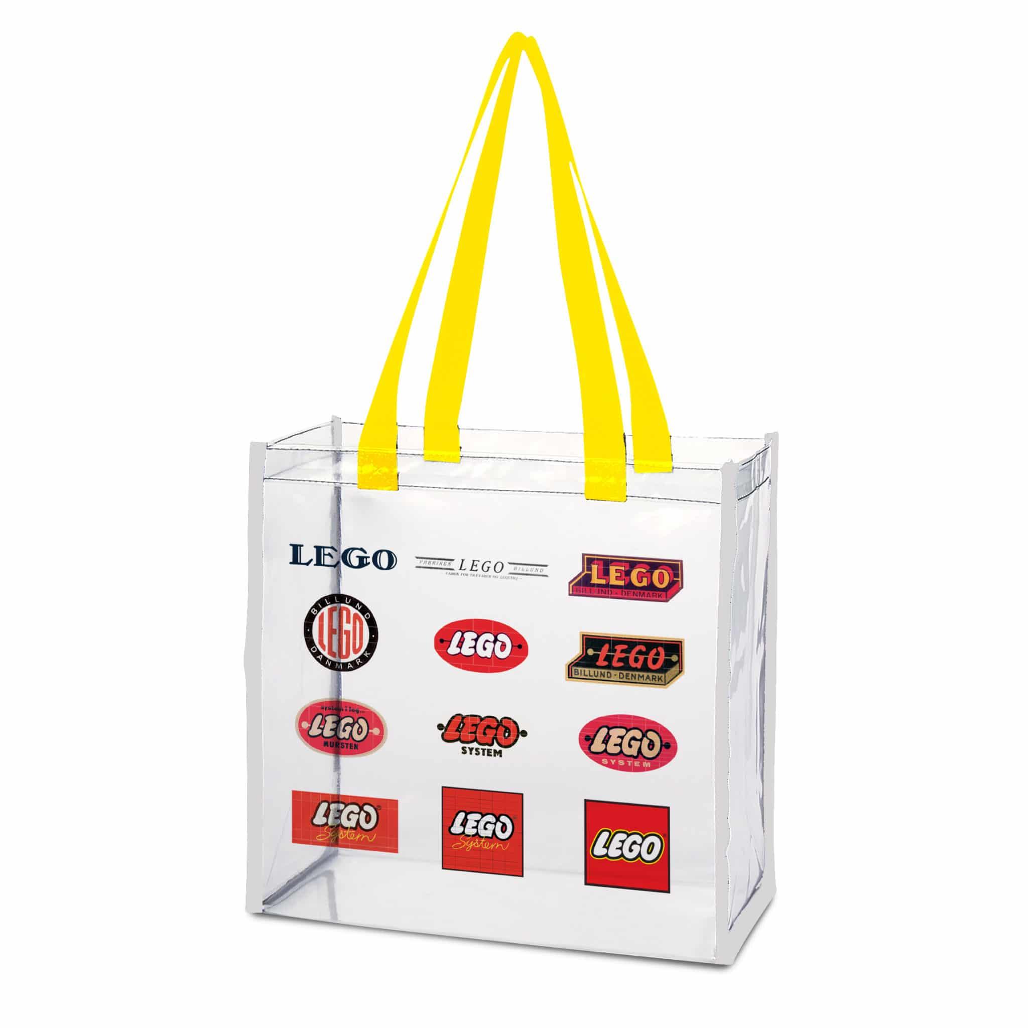 LEGO Strandtasche Transparent