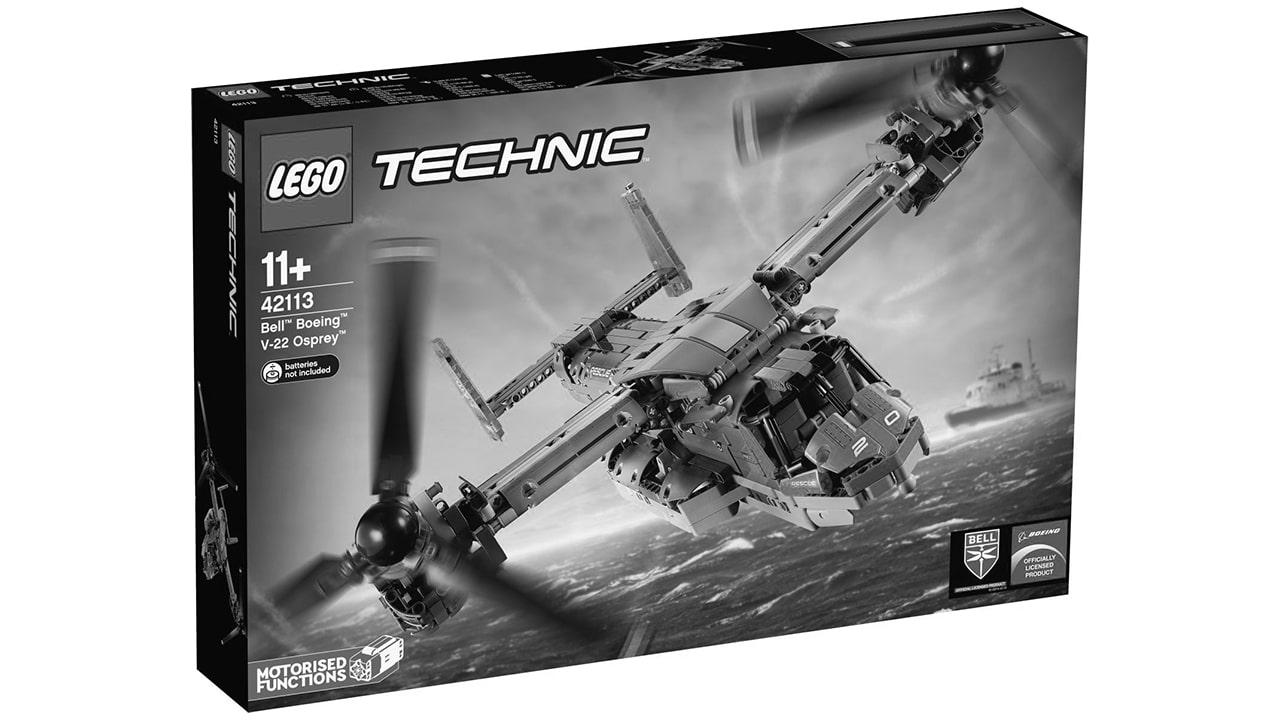 LEGO Technic 42113 Bell Boing Osprey V 22 erscheint nicht