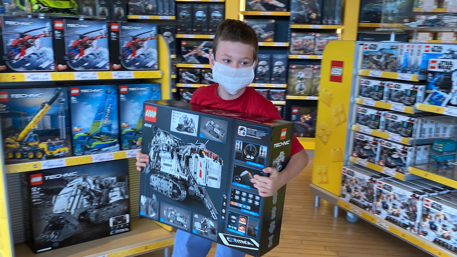 LEGOland 25 Mio Gast Hubert