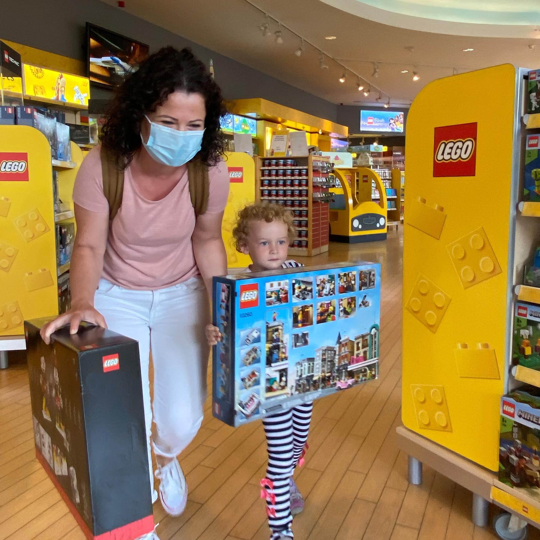 LEGOland 25 Mio Gast Olga