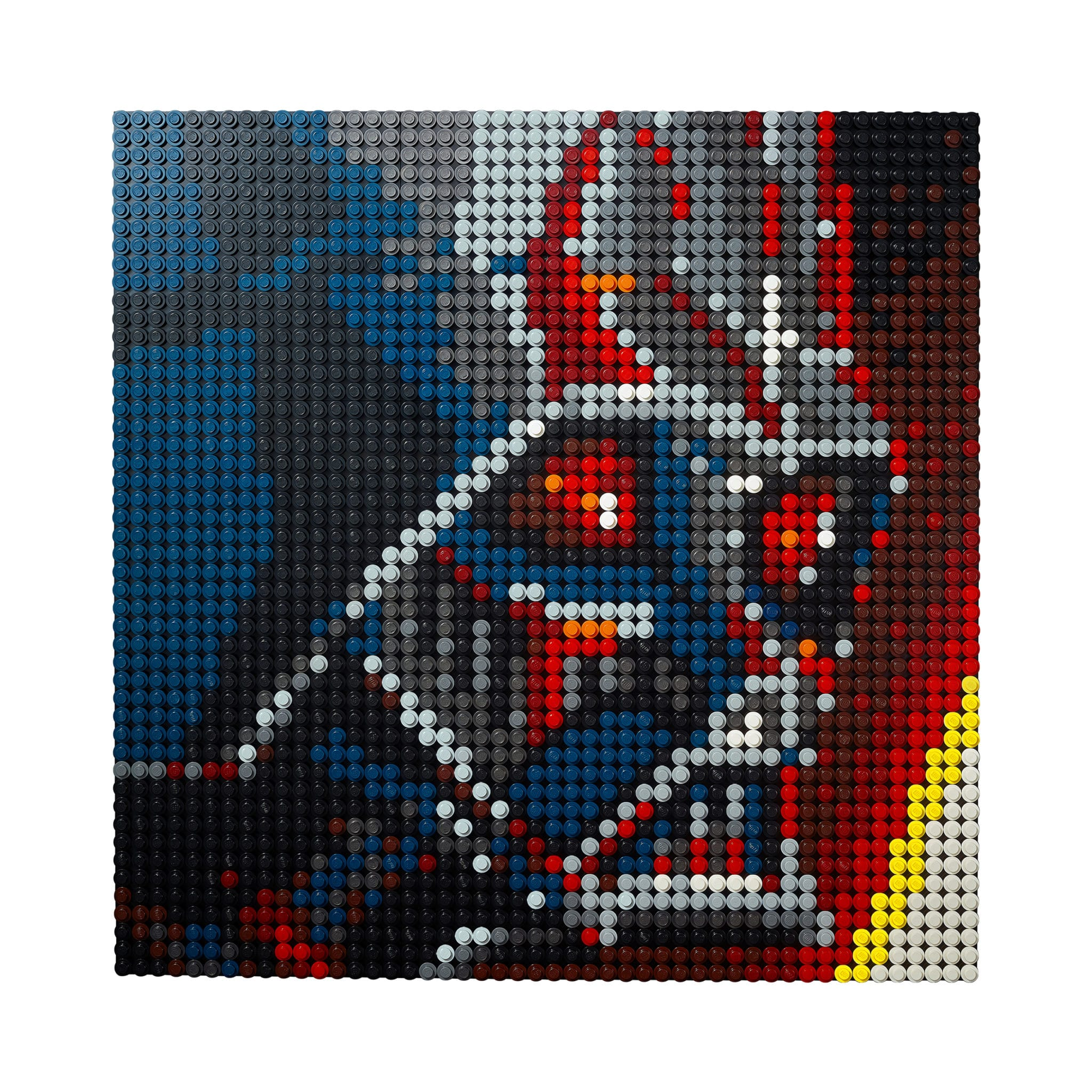 LEGO Art: Darth Vader Rebrick (mit dark red und dark blue)