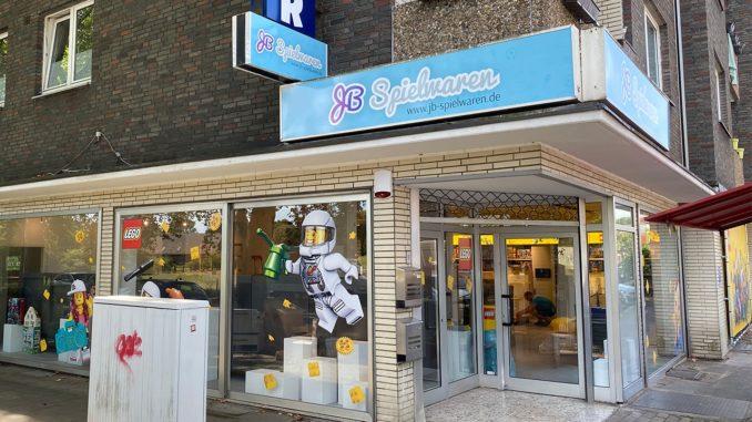 JB Spielwaren Laden Eröffnung