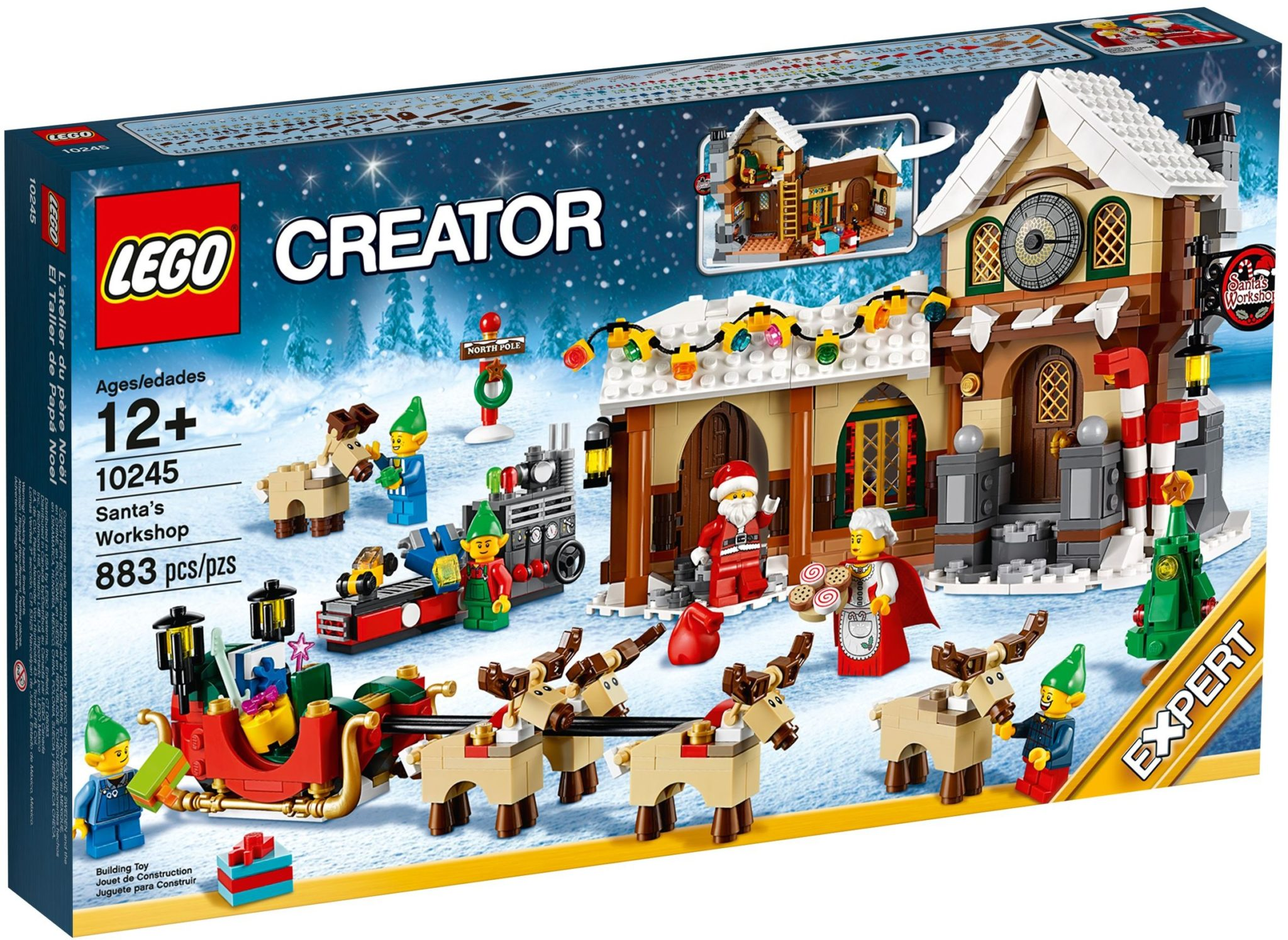 LEGO 10245 Santas Workshop