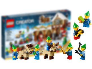 LEGO 10275 Elfen Clubhaus: Das Winter Village Set 2020