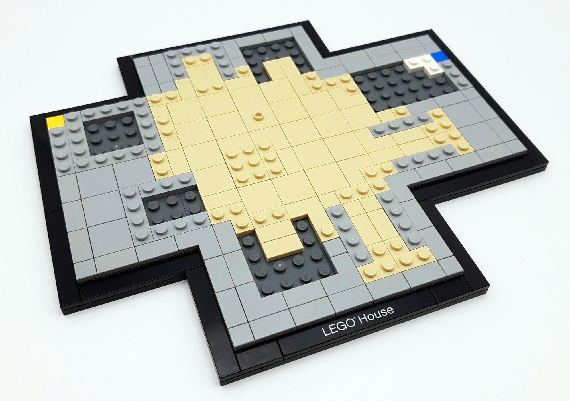 LEGO 21037 - LEGO House Baubschnitt Boden
