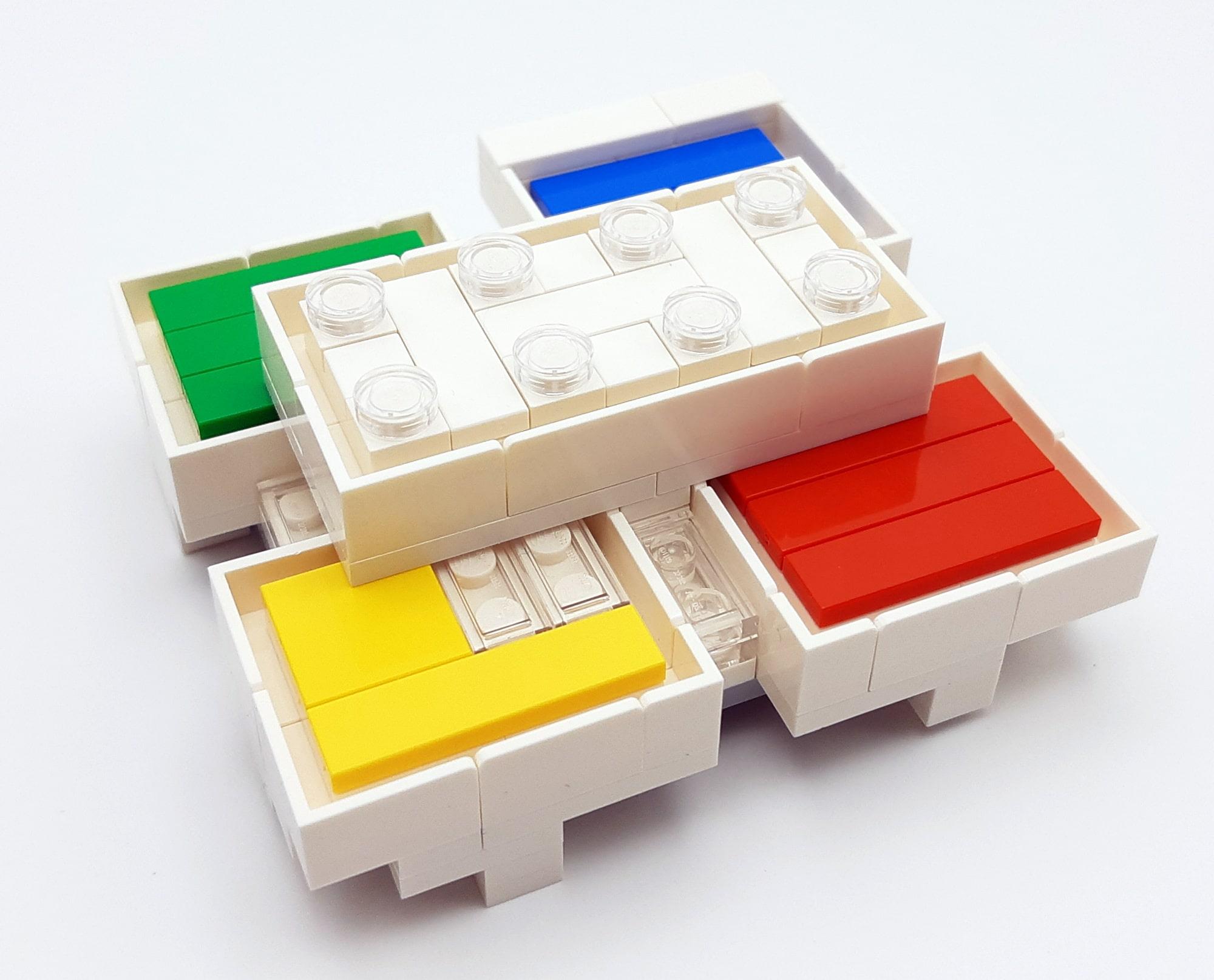 LEGO 21037 - LEGO House Baubschnitt erster und zweiter Stock