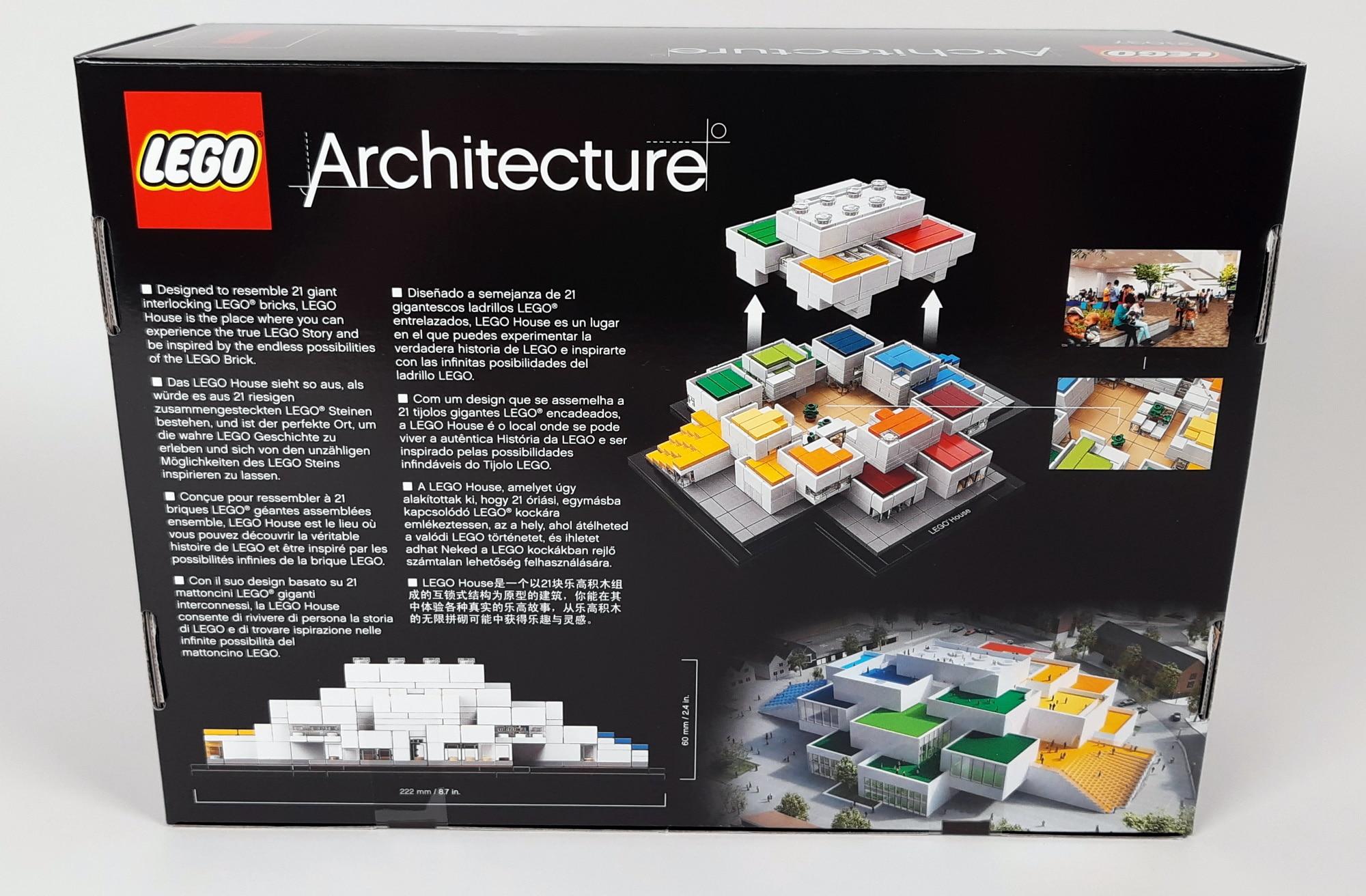 LEGO 21037 - LEGO House Box hinten