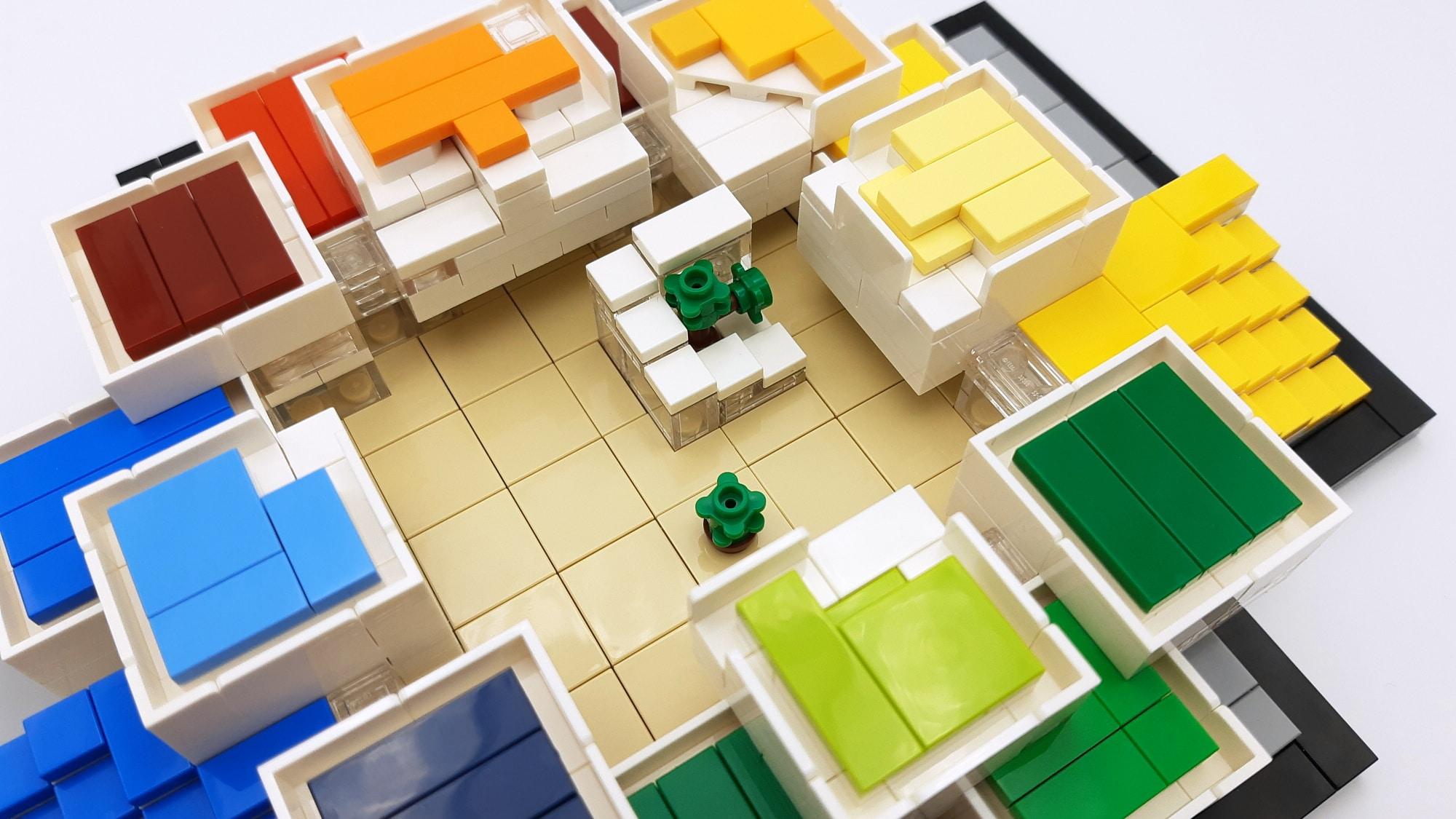 LEGO 21037 - LEGO House innen