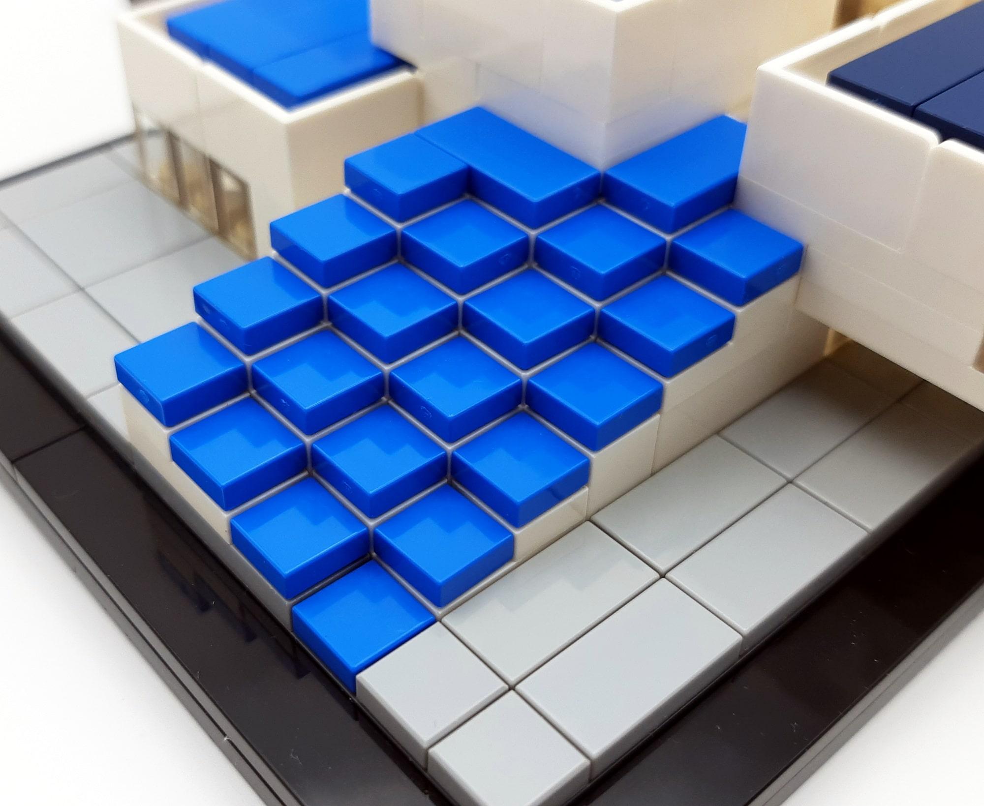 LEGO 21037 - LEGO House Treppen