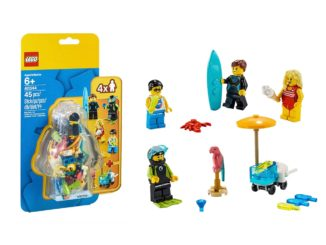 LEGO 40344 Minifiguren Sommer Party