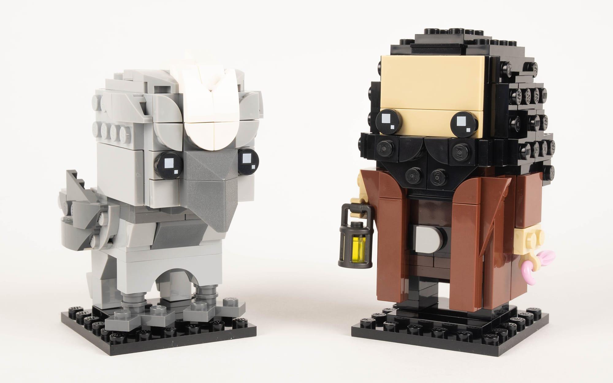 LEGO 40412 Hagrid Seidenschnabel Brickheadz Review 16
