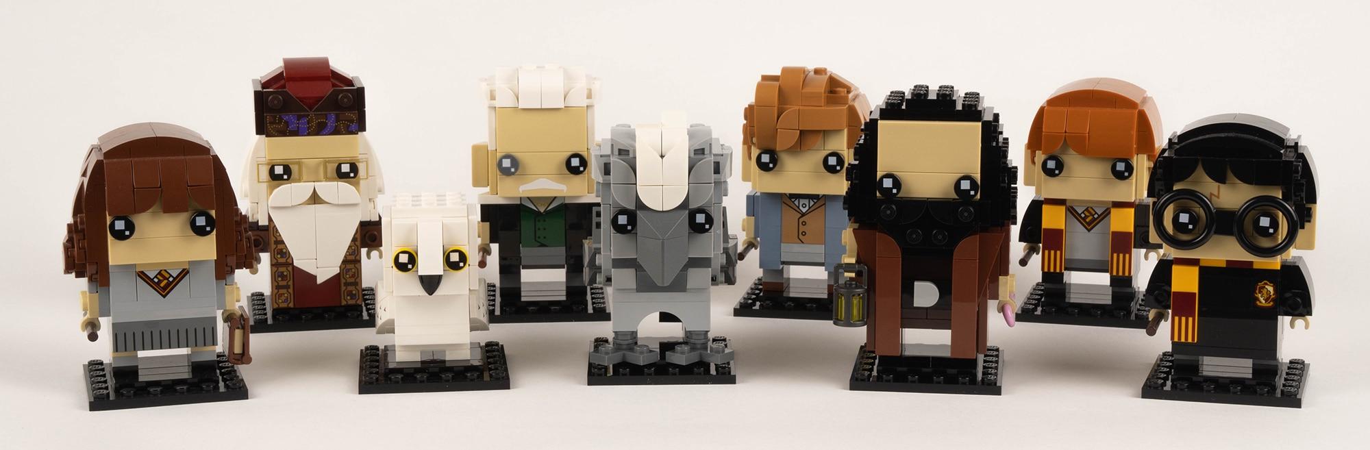 LEGO 40412 Hagrid Seidenschnabel Brickheadz Review 17