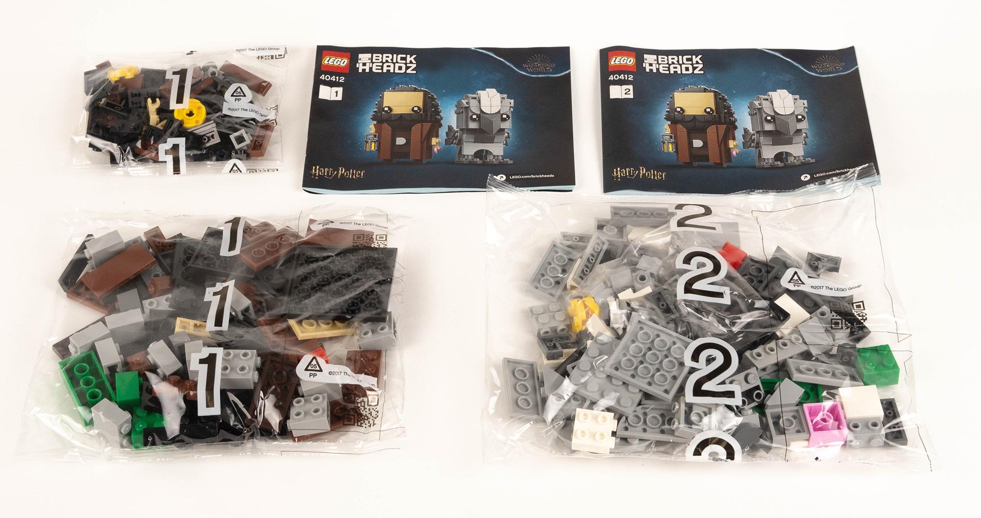 LEGO 40412 Hagrid Seidenschnabel Brickheadz Review 3