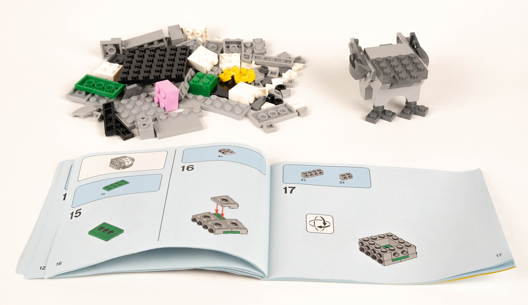 LEGO 40412 Hagrid Seidenschnabel Brickheadz Review 6