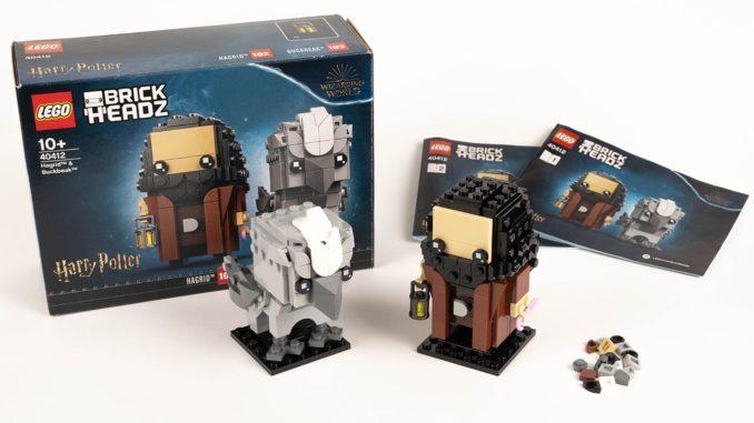 LEGO 40412 Hagrid & Seidenschnabel Brickheadz Review