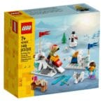 LEGO 40424 Winter Snowball Fight 2
