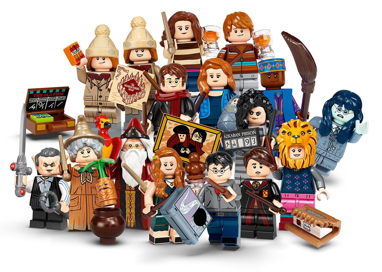 LEGO 71028 Alle neuen Harry Potter Figuren