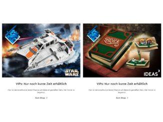 LEGO 75144 Snowspeeder und 21315 Pup-Up-Buch wieder verfügbar