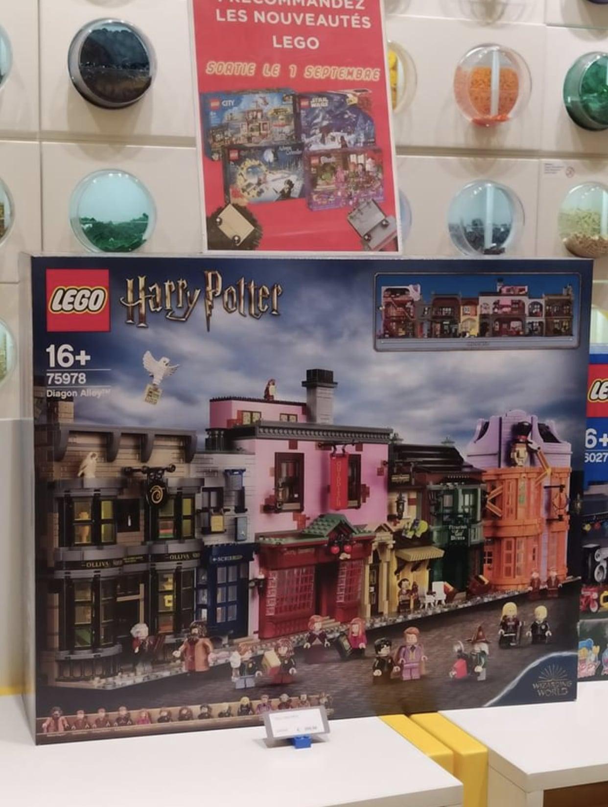 LEGO 75978 Winkelgasse Frankreich