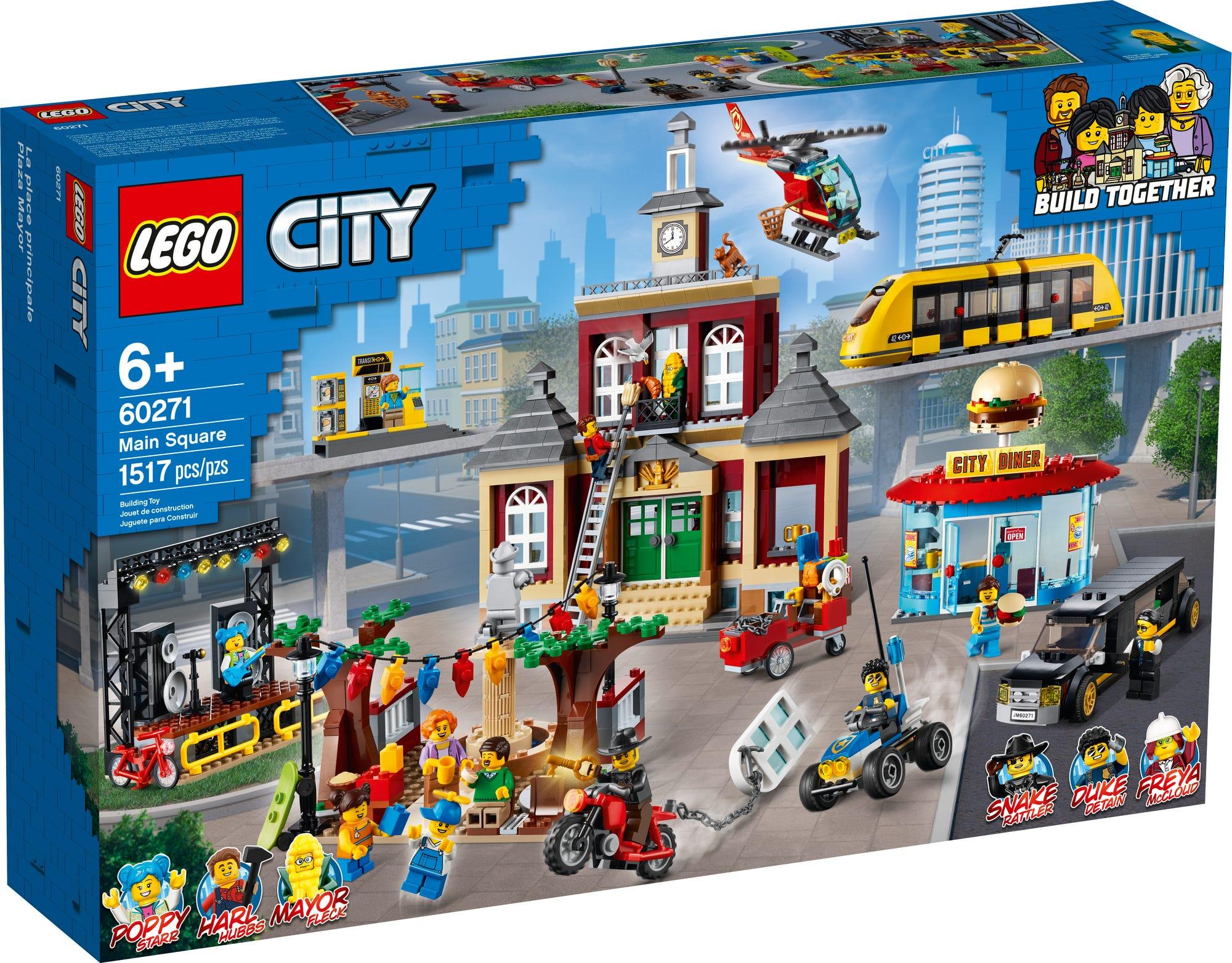 LEGO City 60271 Stadtplatz (1)