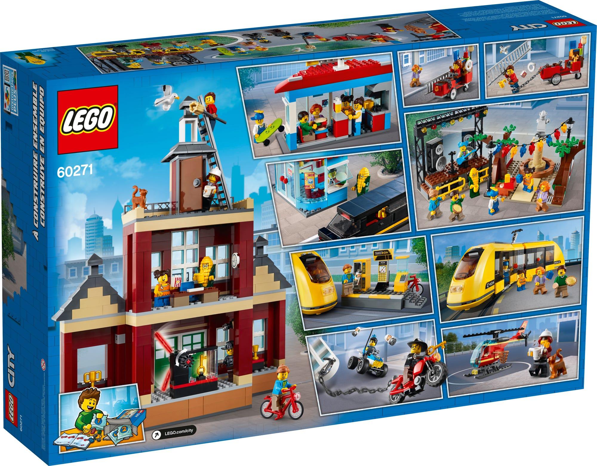 LEGO City 60271 Stadtplatz (13)